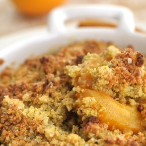 Apricot's crumble